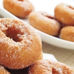 Donuts with Flour