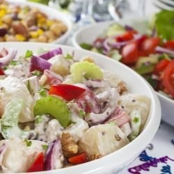 Salad with Peppers
