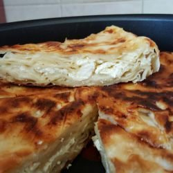Pan-Fried Filo Pastry