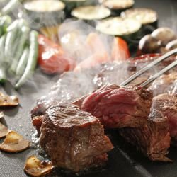 Steaks with Red Wine
