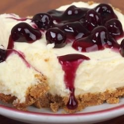 Blueberry Cheesecake with Butter