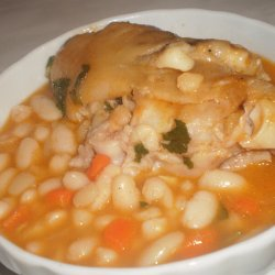 Beans with Pork Trotters