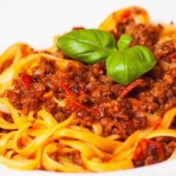Spaghetti with Mince