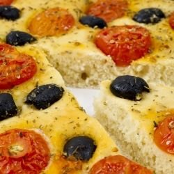 Mediterranean Bread with Olive Oil