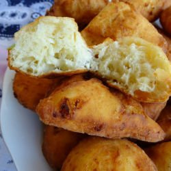 Fritters with Feta Cheese