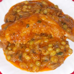 Chicken Drumsticks with Peas Recipes