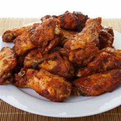 Chicken Wings with Soya Sauce and Honey
