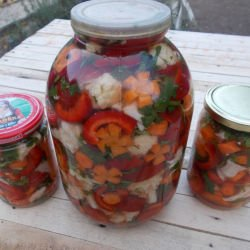 Pickle with Bell Peppers