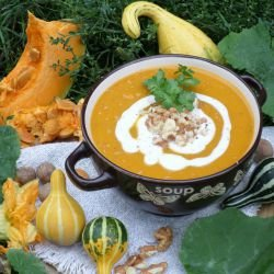 Cream Soup with Ginger