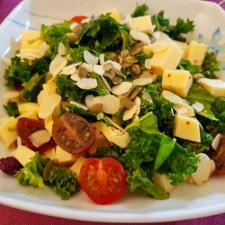 Vitamin Salad with Olive Oil