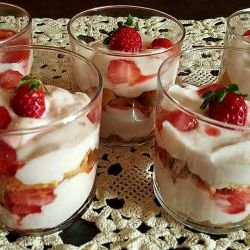 Strawberries and Cream Recipes