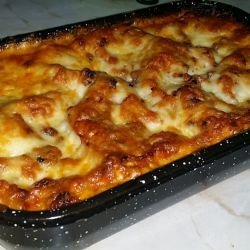 Lasagne with Mince