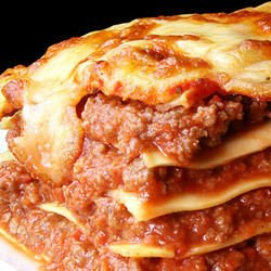 Lasagne with Eggs