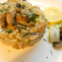 Meatless Risotto