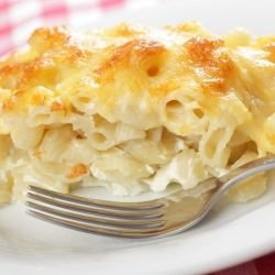 Baked Pasta with Feta Cheese