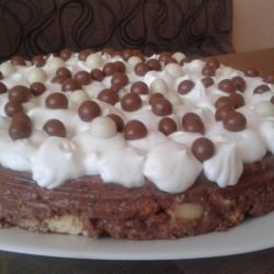 Crumbled Biscuit Cake