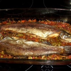 Baked Fish with Olive Oil
