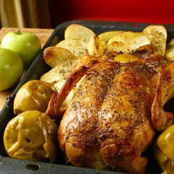 Oven-Baked Duck