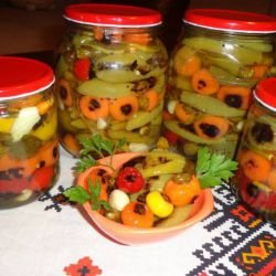 Grandma`s Aromatic Toasted Peppers