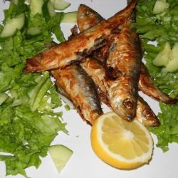 Baked Fish with Lemons