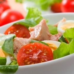 Vegetable Salad with Lettuce
