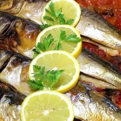 Baked Fish with Parsley