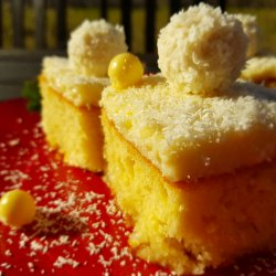 Coconut Cake with Butter