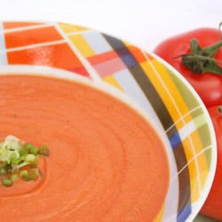 Soup with Tomatoes