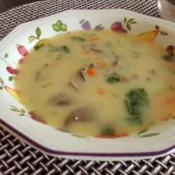 Soup with Lamb Offal