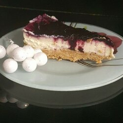 Blueberry Cheesecake with Cream Cheese