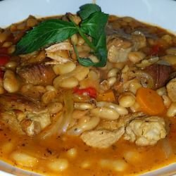 Beans with Peppers