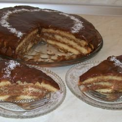 Banana Cake with Butter