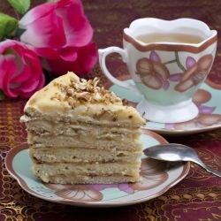 Biscuit Cake with Butter