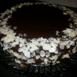 Quick Cake with Homemade Cream