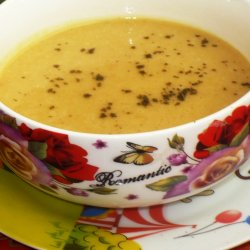 Cream Soup with Savory