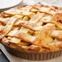 Easy Apple Pie with Puff Pastry