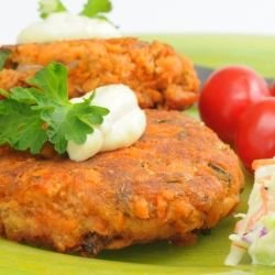 Vegetable Patties with Onions
