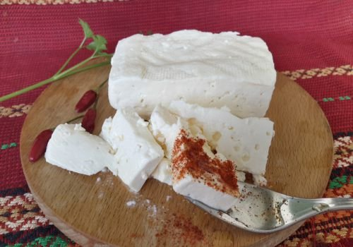 Homemade Feta Cheese - Recipe