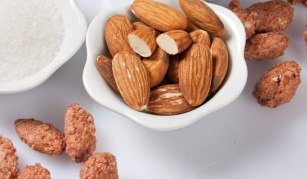 caramel Almonds