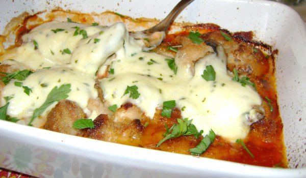Fragrant Mozzarella Chicken
