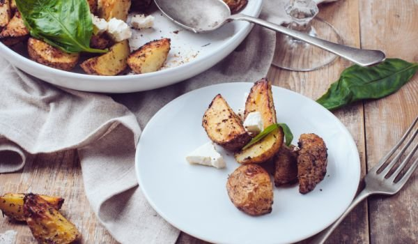 Crunchy Potatoes with Herbs