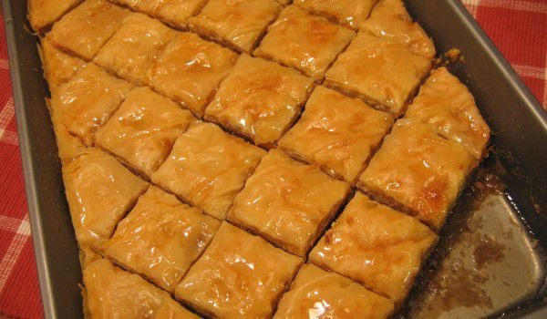 Turkish Baklava With Pistachios