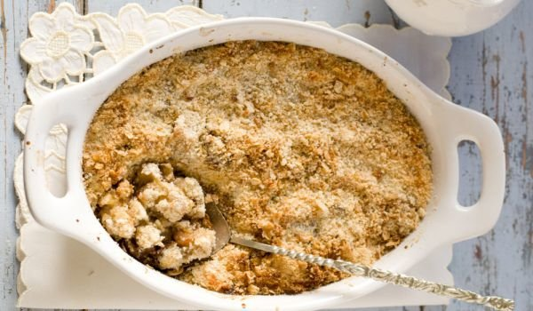 Crumble with Bananas