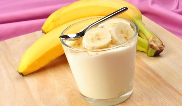 Dairy Cream with Bananas
