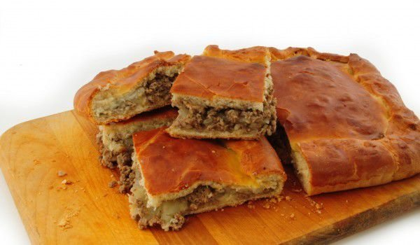 Pastry with Chicken Livers