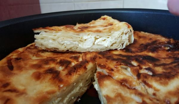 Pan-Fried Phyllo Pastry