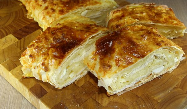 Fast Phyllo Pastries with Feta