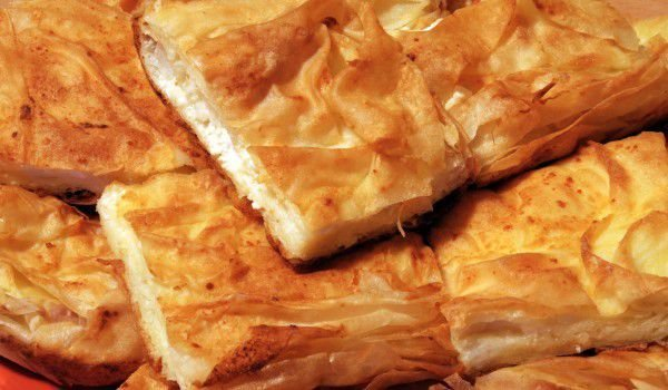 Traditional Phyllo Pastry Pie