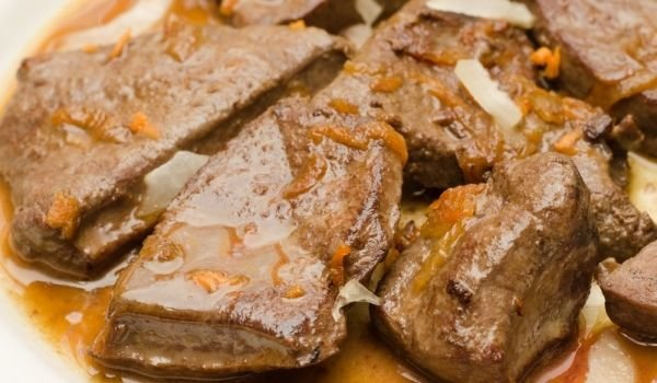 how to cook liver and onions in the oven