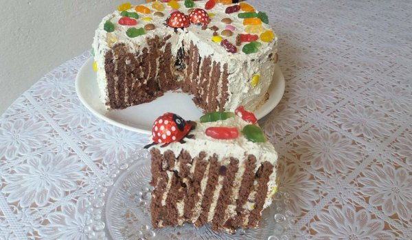 Biscuit Cake for Kids` Party